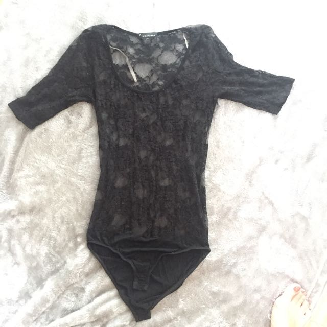 F21 Lace Bodysuit