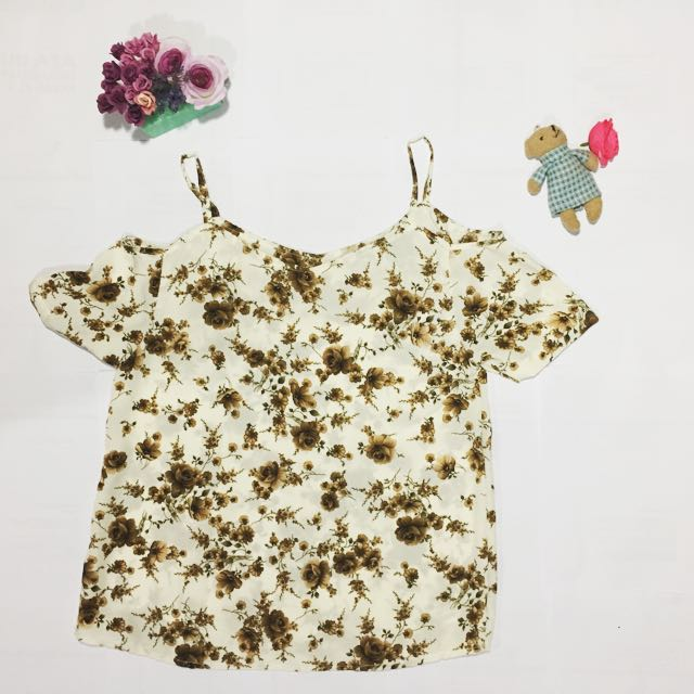 Flower Nude Top
