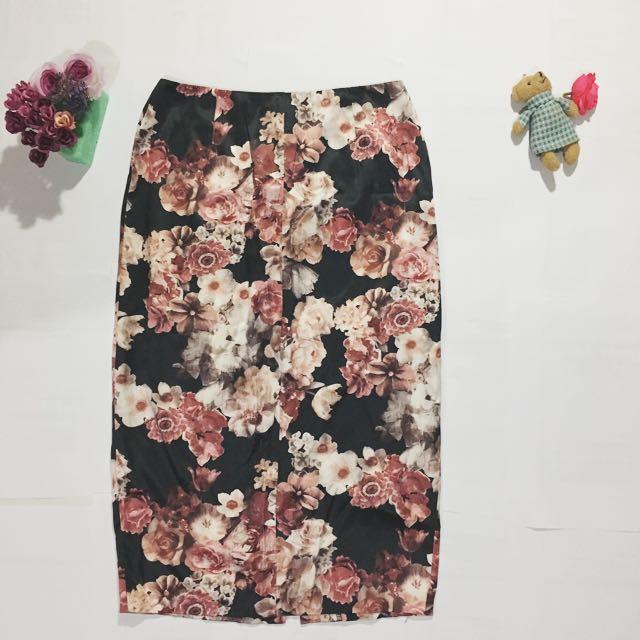 Flower Vintage Skirt