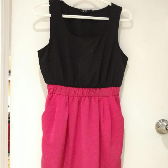 Fv21 Dress Color Block