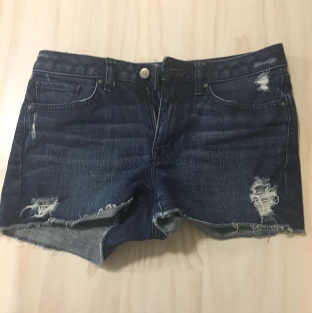 Gap Denim Shorts Size 26/8