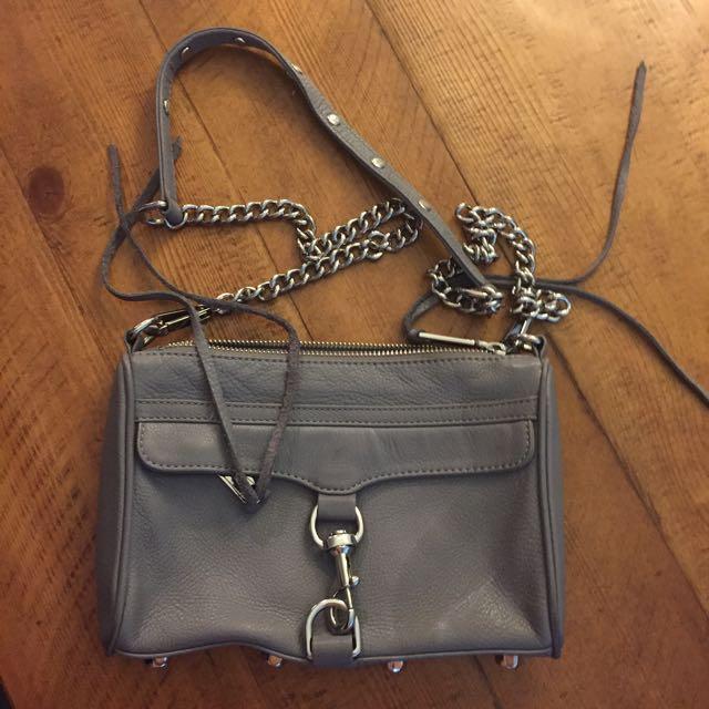 Grey Rebecca Minkoff Bag