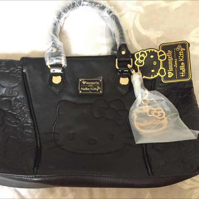 Hello Kitty Loungefly Black Bag