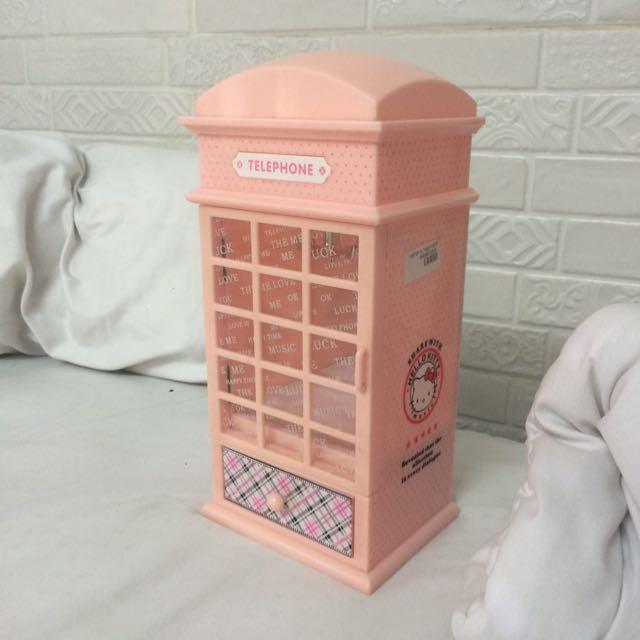 Hello Kitty Music Telephone Box