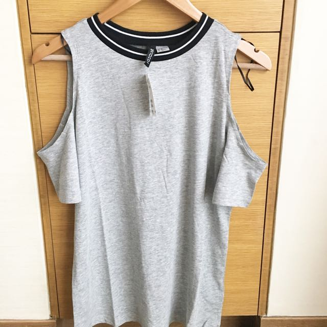 H&M Cut Out Sleeves Top