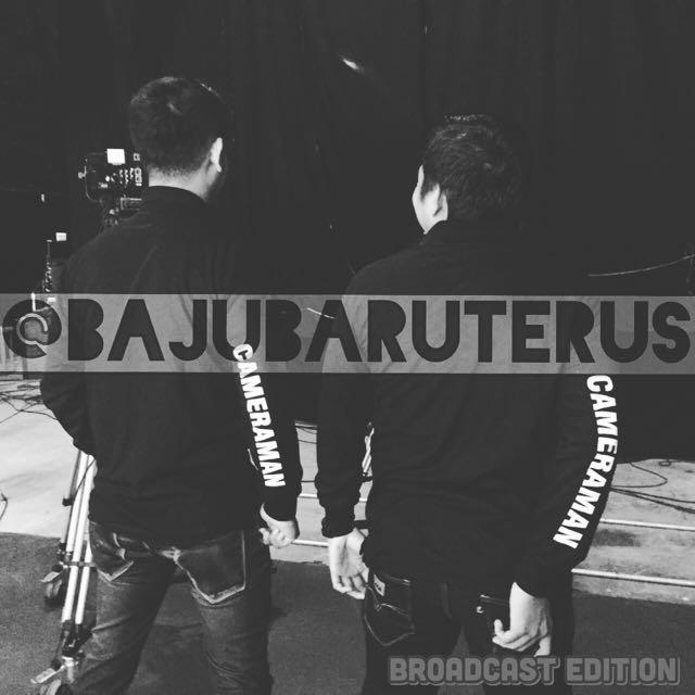 IG : @bajubaruterus Broadcast Edition (Limited Stock)
