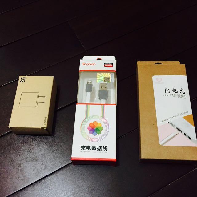 安卓/蘋果iPhone充電線、充電器(頭)