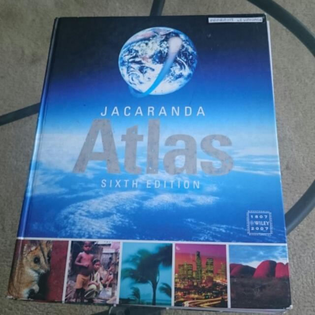 Jacaranda Atlas -sixth Edition