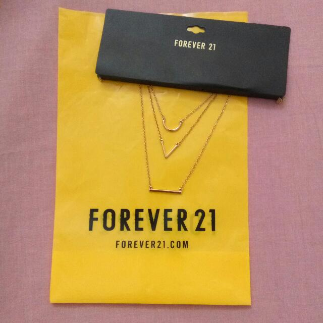 Kalung Forever21(Layer Necklace)