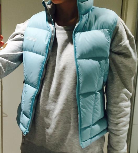 Kathmandu Blue Goose Down Puffer Vest Size RRP: $330 Size 8