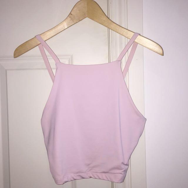 KOOKAI Tyler Crop- Size 2 Pink/purple