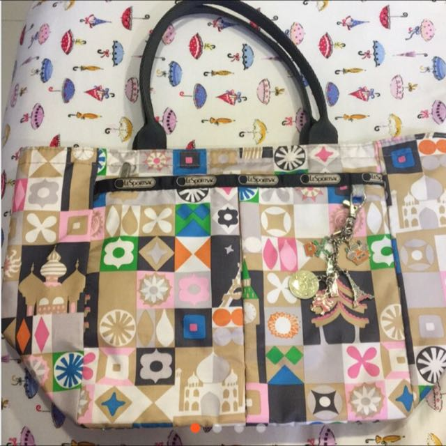 Lesportsac 小小世界 it's a small world