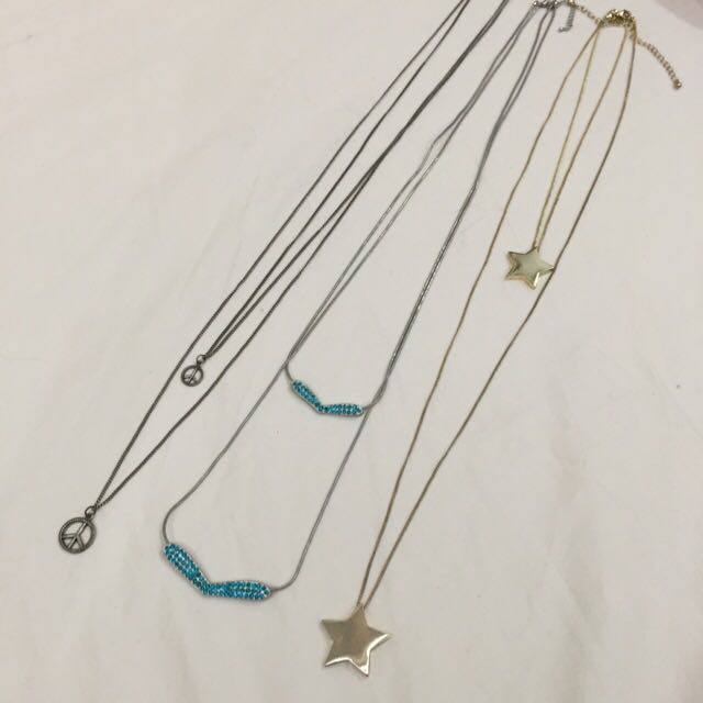 Long Necklaces (Peacocks, Tangs, Diva)