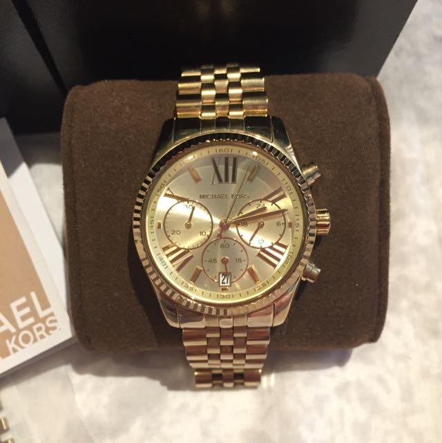 Michael Kors - Lexington Watch - Gold