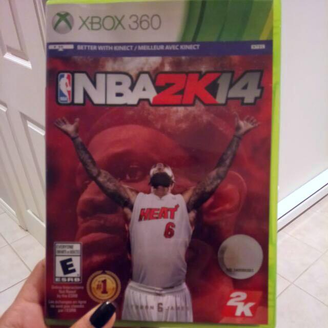 NBA2K14 XBOX360 GAME