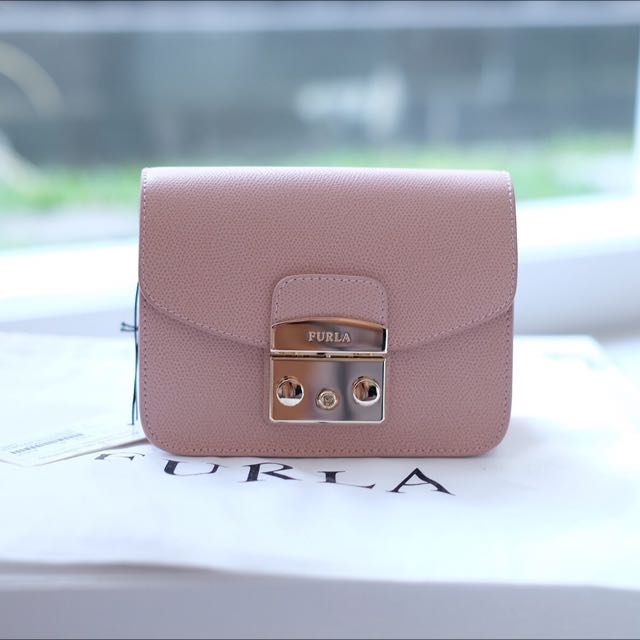 NEW Furla Mini Metropolis 100% Authentic