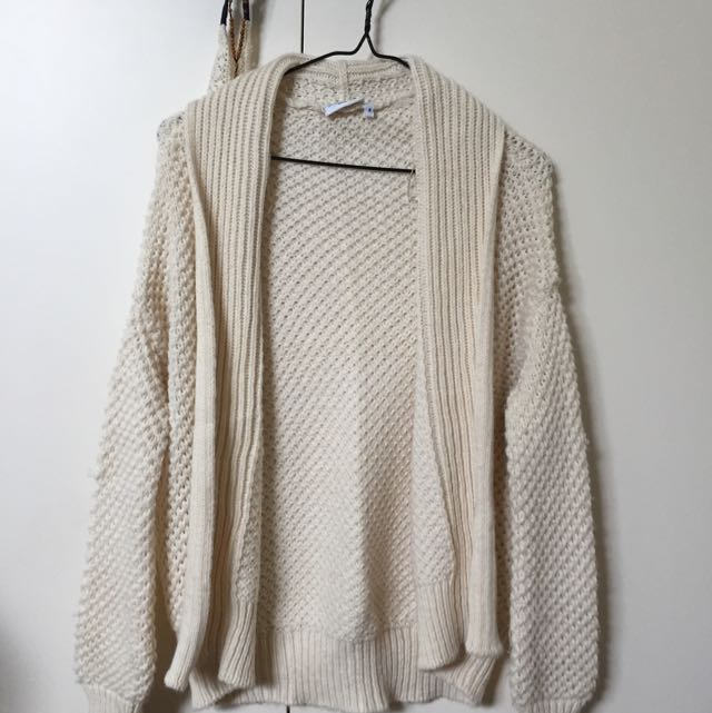 New Look Knit White Cardi