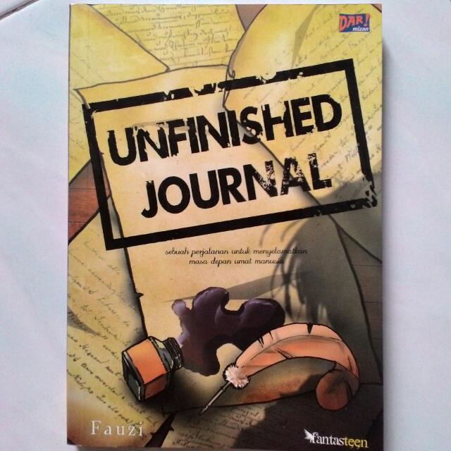 Novel Unfinished Journal