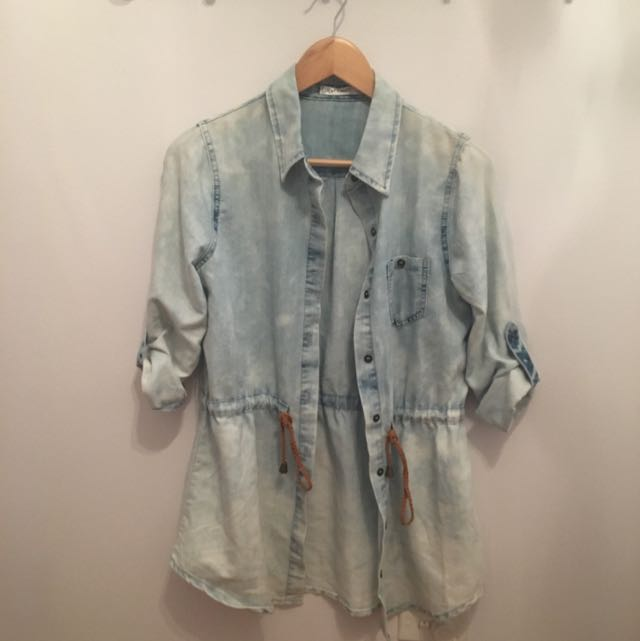 Paper Scissors Denim Shirt