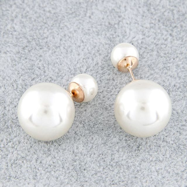 Pearl Earrings - BRAND NEW - Double Pearl Earrings