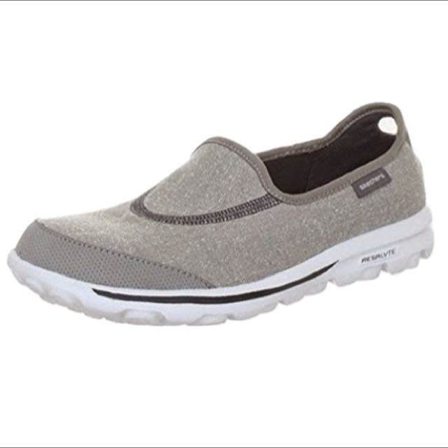 low priced 45593 2af71 Skechers Performance Women s Go Walk Slip-On Walking Shoe (Grey), Women s  Fashion, Shoes on Carousell
