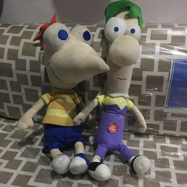 Phineas And Ferb Stuffed Toys