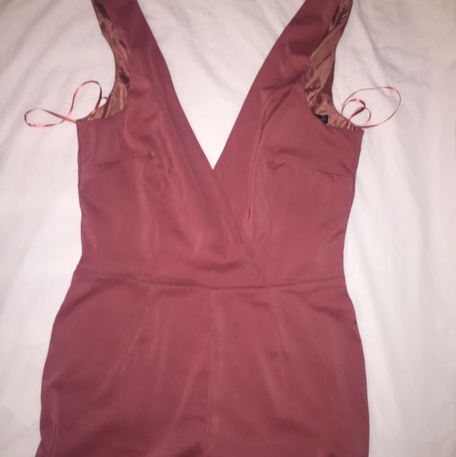 Pink Boo Hoo Tall Jumpsuit
