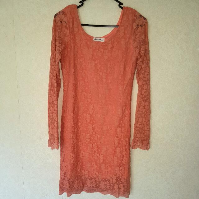 Shear Pink Dress