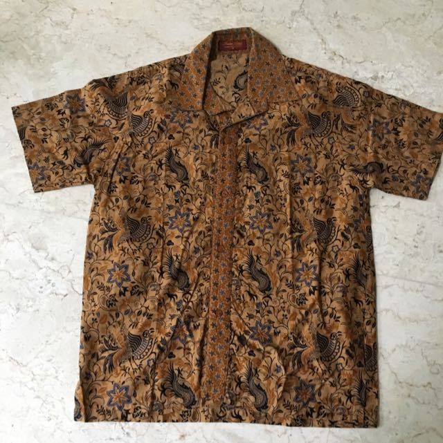 Preloved Batik Shirt For Boy