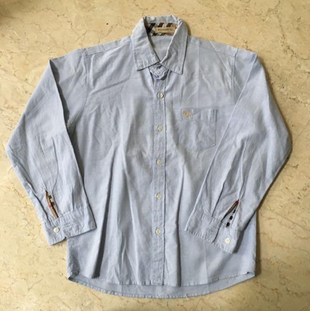Preloved Burberry Boy's Shirt