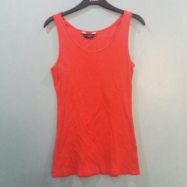 RED DOROTHY PERKINS TANK TOP