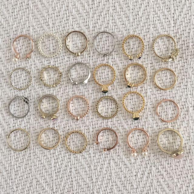 Rings $8 For All