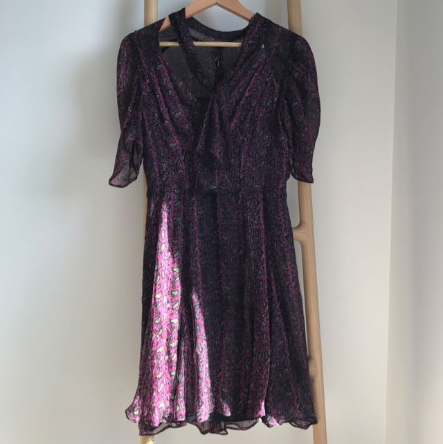 Scanlan&theodre Silk Dress Sz10
