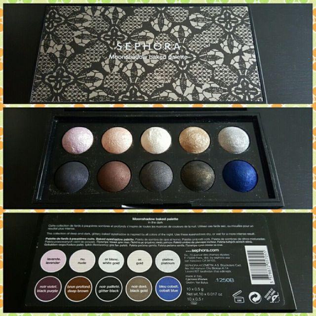 Sephora Moonshadow Baked Palette