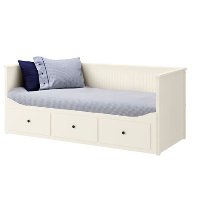 Single Bed Frame With Storage Space (IKEA)