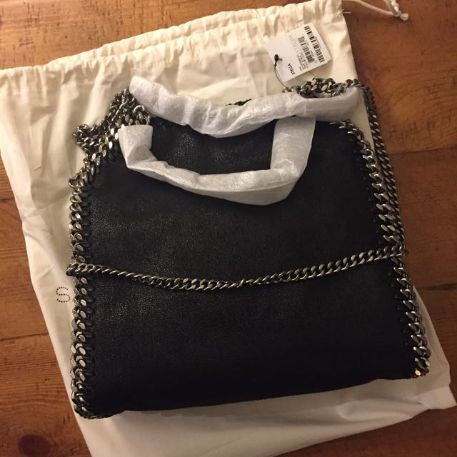 Stella Mccartney Mini Falabella Black Bag