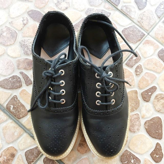 Stradivarius Oxford Shoes 4e02f326ad