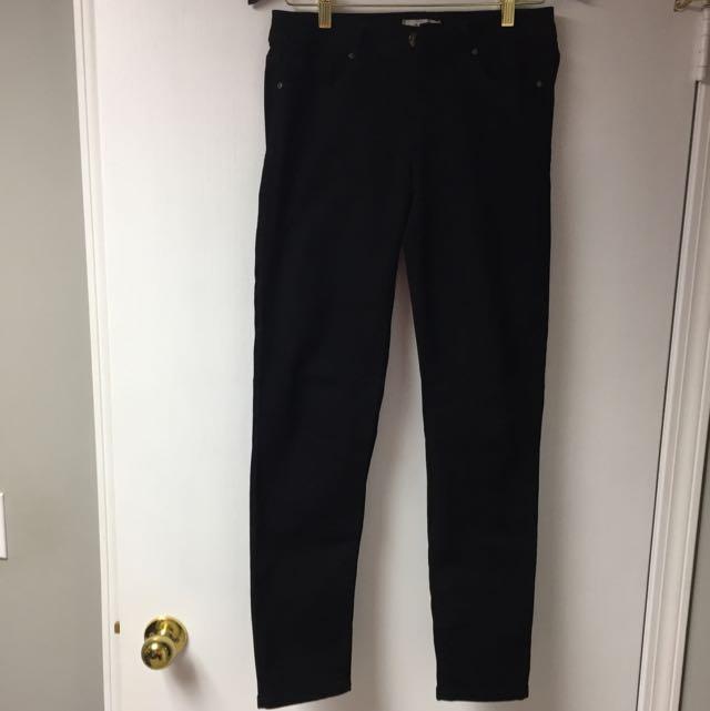 Straight Legged Black Jeans