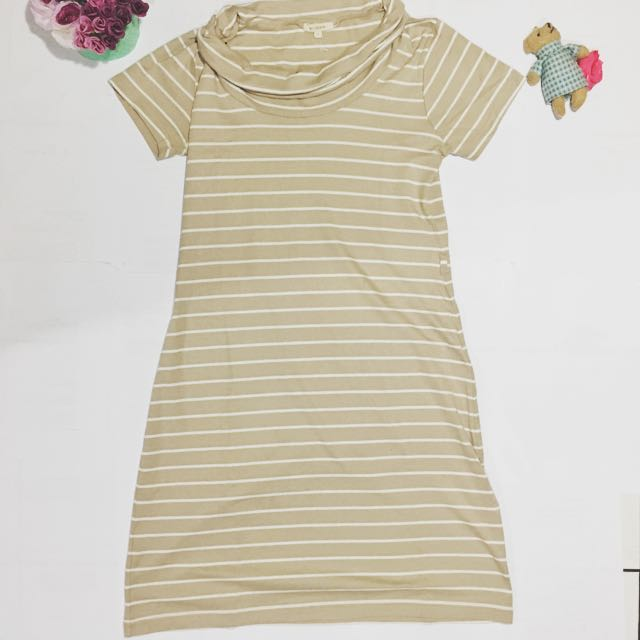 Stripes Creamy Dress