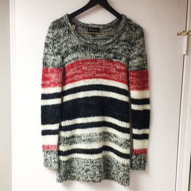 Stripped Wool Sweater