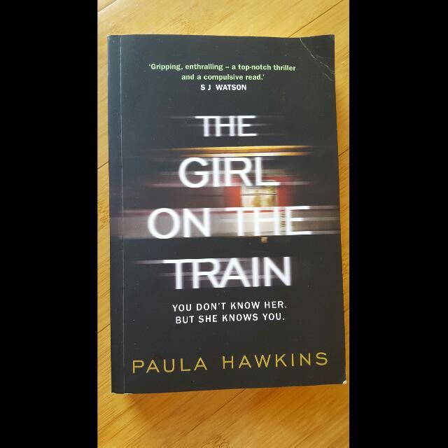 'The Girl On The Train' - By Paula Hawkins