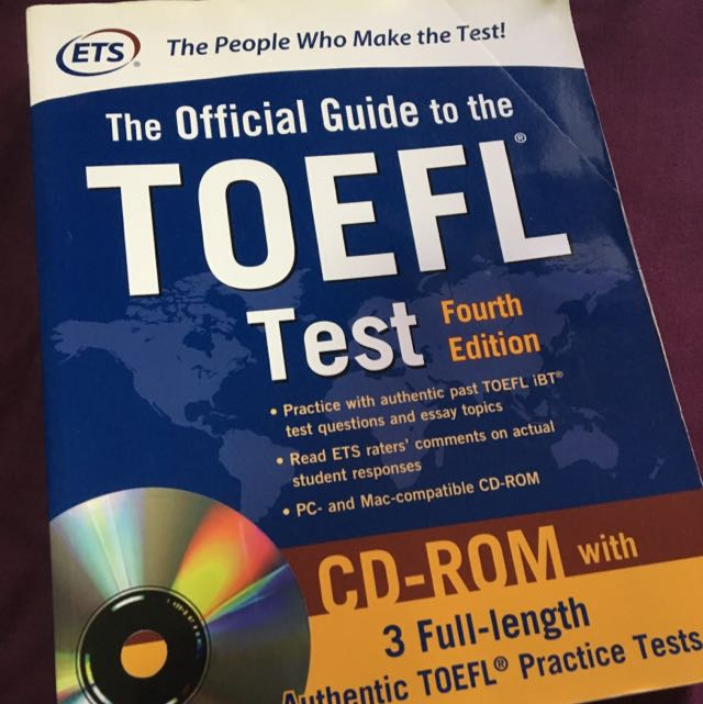 TOEFL 托福 空白參考書 ETS Tofel ibt