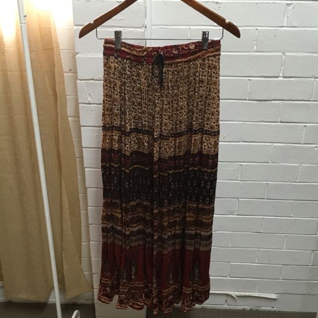 TREE Of LIFE Bohemian Maxi Skirt Free Size (one size)