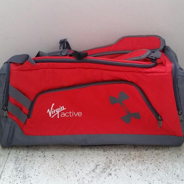 Under Armour Virgin Active Backpack Duffel 088e3a4a1c004