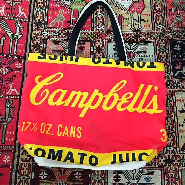 Vintage Campbell's Soup Bag
