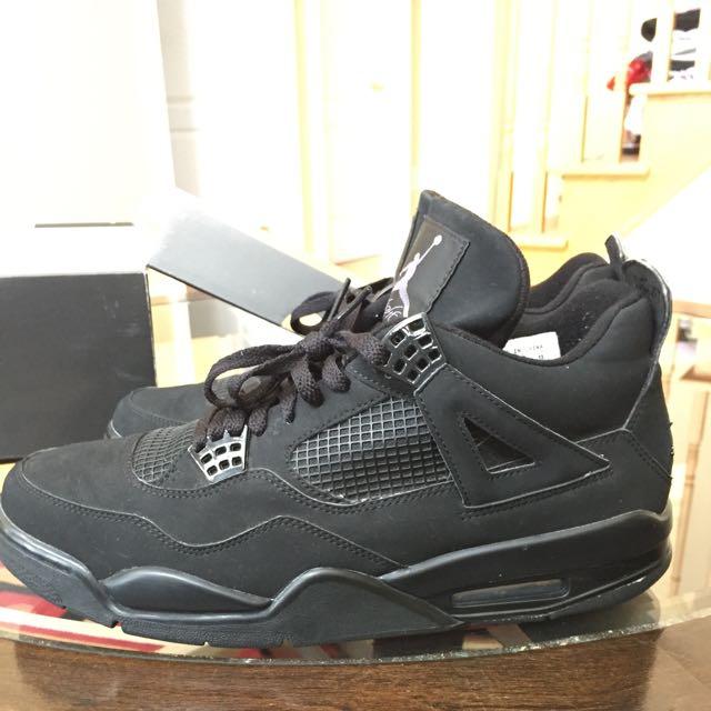 VNDS Jordan Retro Black Cat 4's Size 12