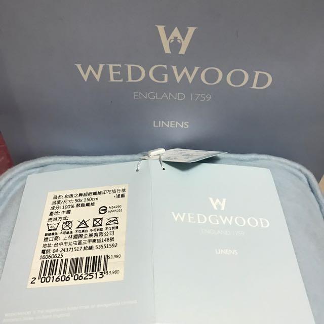 Wedgwood 和諧之舞印花旅行毯