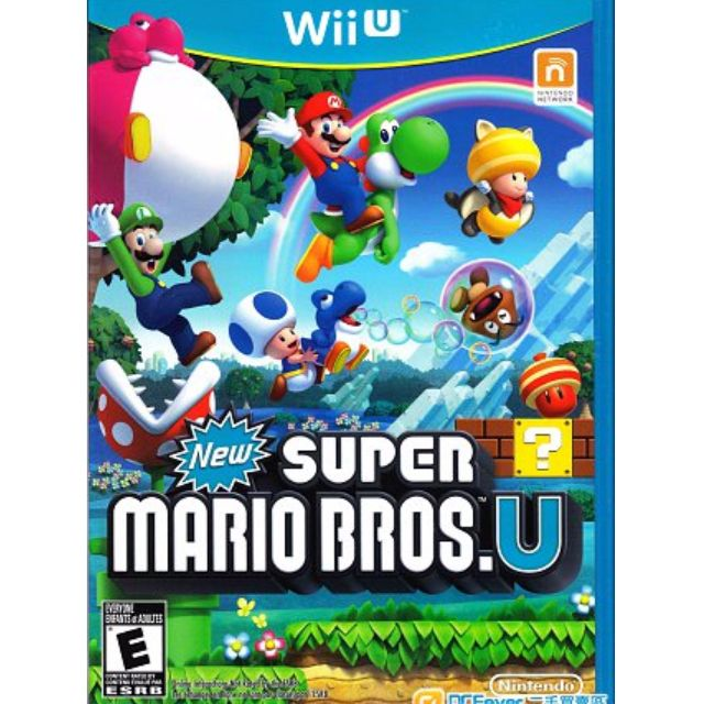 WiiU super mario bros U $280