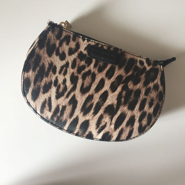 Witchery Leopard Print Pouch