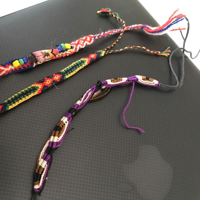 Woman's And Girls Surf Woven Handmade Friendship Bracelets